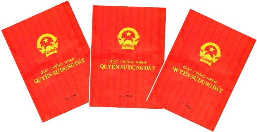Sổ đỏ là giấy chứng nhận quyền sử dụng đất ở