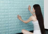 Tấm xốp dán tường giả gạch